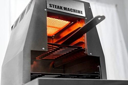 """ACTIVA Grill """"Steak Machine"""" Pizzaofen Pizzagrill Gasgrill Steak-Grill 800 Grad Oberhitze-Gasgrill aus Edelstahl - 2"""