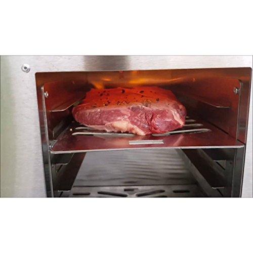 """ACTIVA Grill """"Steak Machine"""" Pizzaofen Pizzagrill Gasgrill Steak-Grill 800 Grad Oberhitze-Gasgrill aus Edelstahl - 7"""