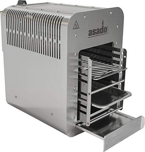Asado 800°C Oberhitze-Gasgrill für Das Perfekte Steak Inklusive Grillrost Spülmaschinentauglich - 1