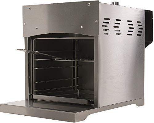 BBGrill Genius XL Original Hochtemperatur Gasgrill bis 800 Grad Edelstahl mit Pizzastein und Heber - 1