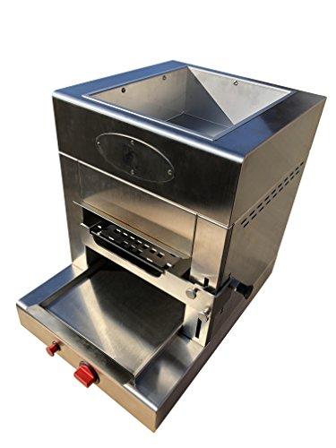 FIREDRAKE L Grillgerät | Hochtemperatur Steak Gasgrill aus Edelstahl, | 850 Grad-Grill | Flüssiggas | inkl. Grillrost, GN-Behälter, Schlauch und Druckregler - 6