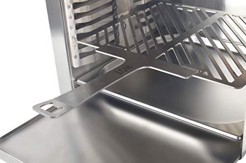 Matrix XL GrillBox 880XL | Oberhitzegrill | 880 Grad | Steakgrill aus Edelstahl, 2 Keramikbrenner, 6,5 KW Leistung, - 2