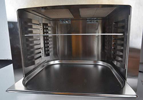 Matrix XL GrillBox 880XL | Oberhitzegrill | 880 Grad | Steakgrill aus Edelstahl, 2 Keramikbrenner, 6,5 KW Leistung, - 4