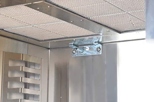 Matrix XL GrillBox 880XL | Oberhitzegrill | 880 Grad | Steakgrill aus Edelstahl, 2 Keramikbrenner, 6,5 KW Leistung, - 5