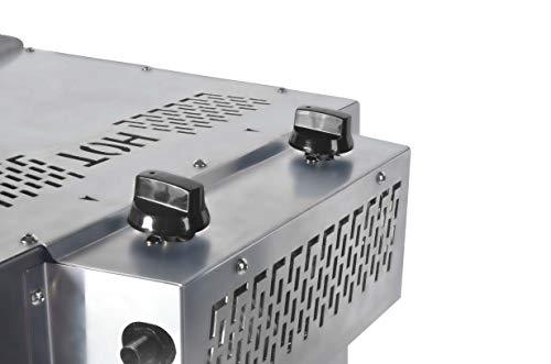 Matrix XL GrillBox 880XL | Oberhitzegrill | 880 Grad | Steakgrill aus Edelstahl, 2 Keramikbrenner, 6,5 KW Leistung, - 6